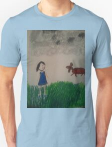 oil pastel drawing T-Shirt