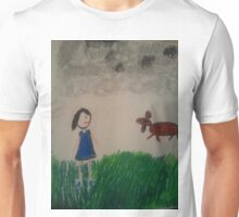 oil pastel drawing Unisex T-Shirt