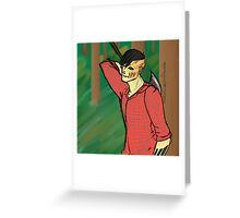Lumberjack!Sharkface Greeting Card