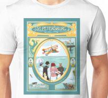 Art Deco Flying Boat - St Petersburg Unisex T-Shirt