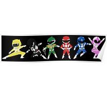 Mighty Morphin Mini Rangers Poster