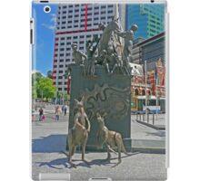 Petrie Tableau, King George Square, Brisbane iPad Case/Skin