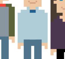 How I Met Your Mother Pixel Sticker
