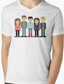 How I Met Your Mother Pixel Mens V-Neck T-Shirt
