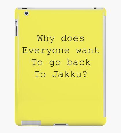 Back to Jakku? iPad Case/Skin