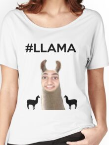 Twaimz - Llama Women's Relaxed Fit T-Shirt
