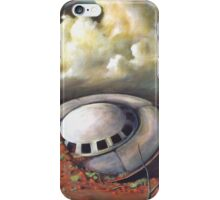 Alien landscape iPhone Case/Skin