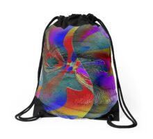 Stucco Look A Like Abstract Brilliance  Drawstring Bag