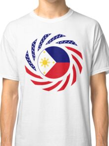 Filipino American Multinational Patriot Flag Series 1.0 Classic T-Shirt