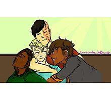 RvB GTA AU- Cuddly Boys  Photographic Print