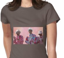 African Performers Womens Fitted T-Shirt