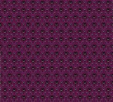 THEE Haunted Mansion Wallpaper - Deep Purple by madradmitchell
