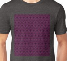 THEE Haunted Mansion Wallpaper - Deep Purple Unisex T-Shirt