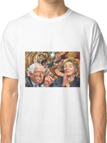 Crouching Bernie, Hidden Hillary Classic T-Shirt