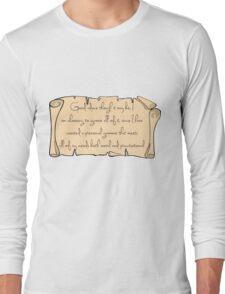 Grammar, Sirius Style Long Sleeve T-Shirt