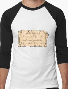 Grammar, Sirius Style Men's Baseball ¾ T-Shirt