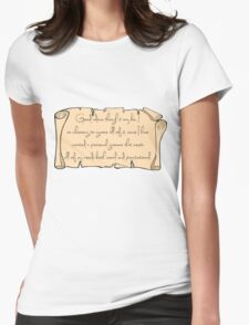 Grammar, Sirius Style Womens Fitted T-Shirt