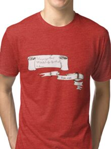 Vroom, Vroom Tri-blend T-Shirt