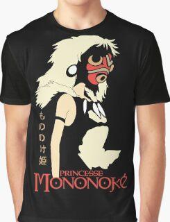 Princess Mononoke Hime, Anime Graphic T-Shirt