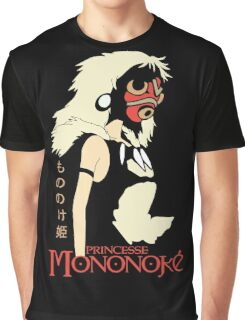 Princess Mononoke Hime, Anime Graphic T-Shirt