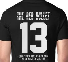 BTS THE RED BULLET (White) Unisex T-Shirt