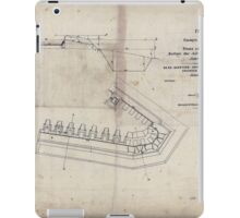 Civil War Maps 1315 Plan of enemy's battery no 5 in front of Petersburg before the advance of US Forces June 1864 iPad Case/Skin