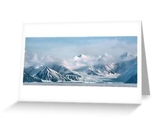 Transantarctic Range, Victoria Land, Antarctica Greeting Card
