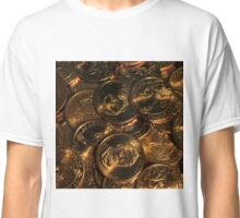 GOLD COINS 2 Classic T-Shirt