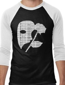 Phantom Music Sheet Men's Baseball ¾ T-Shirt