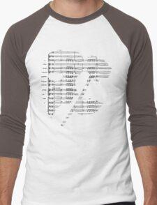 Phantom Music Sheet Men's Baseball ¾ T-Shirt