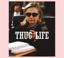 Throwback - Hillary Clinton One Piece - Long Sleeve