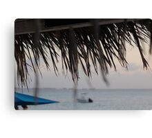 Ocean Hut Canvas Print