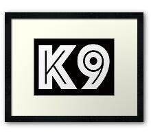 K9 Framed Print