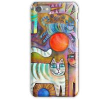 Klimt Cats iPhone Case/Skin