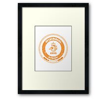 World Cup Football - Team Netherlands (distressed) Framed Print