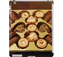 The Swiss Collection - Mini Chocolate Biscuits iPad Case/Skin