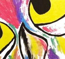 Rainbow Owl Sticker