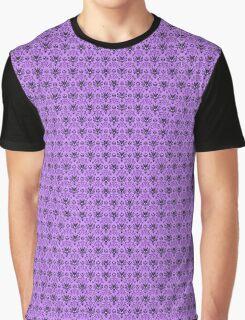 The Haunted Mansion Wallpaper - Light Purple  Graphic T-Shirt
