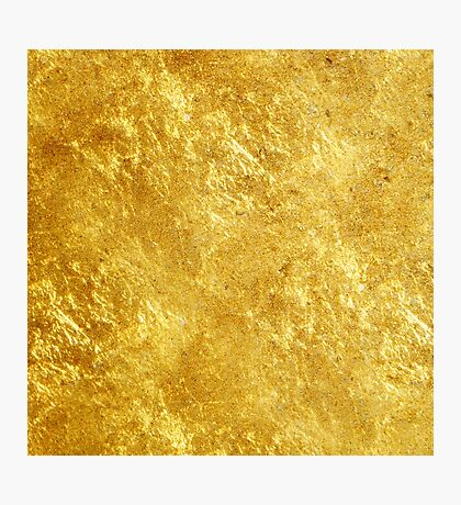 GOLD Photographic Print