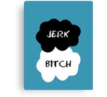 Jerk - Bitch The Fault in Our Stars Clouds Canvas Print