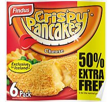 Crispy Pancakes Poster