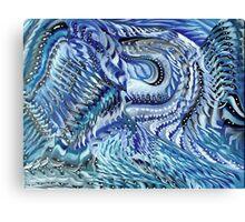 Blue Poet Canvas Print