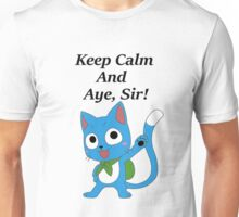 Fairy Tail Happy Aye, Sir! Unisex T-Shirt