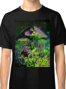 Psychedelic Mushroom Love Classic T-Shirt