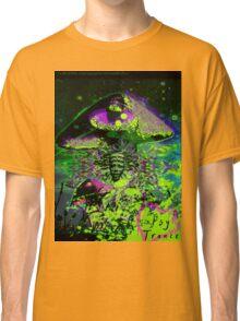 Psychedelic Mushroom Love Classic T-Shirt