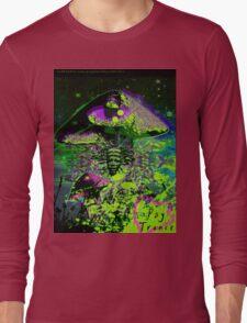 Psychedelic Mushroom Love Long Sleeve T-Shirt