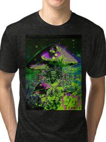 Psychedelic Mushroom Love Tri-blend T-Shirt