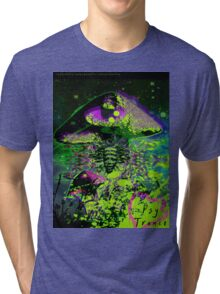 Psychedelic Mushroom Love Tri-blend T-Shirt