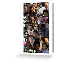David Duchovny/Fox Mulder Collage Greeting Card