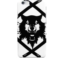xavier wulf hollow squad BW iPhone Case/Skin